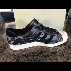 adidas Shoes - Adidas super star Bape collaboration rare
